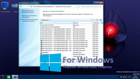 Windows 8.1 Embedded Pro Aero [Rus / x64] 2016