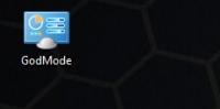 Активация режима Бога на Windows 7/8