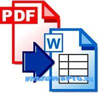Как PDF перевести в Word?