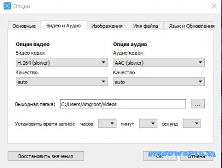 free screen video recorder на русском
