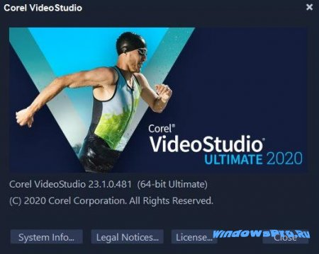 информация о Corel VideoStudio Ultimate